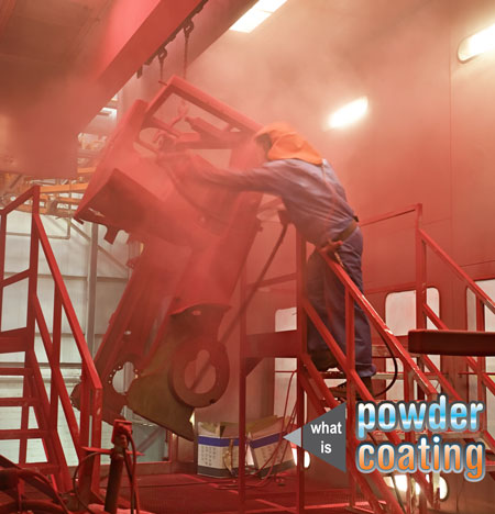 Powder Coating A Truck Frame