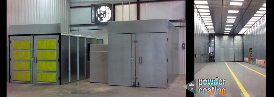 Batch-powder-coating-systems