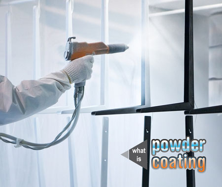Powder coating equipment youll need: a powder spray gun